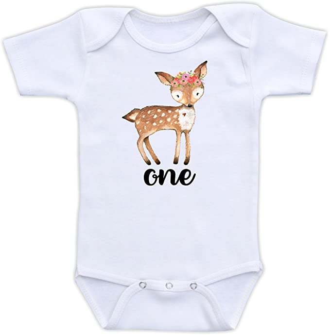 DoozyDesigns One - bebé niña Boho Primer cumpleaños Outfit ...