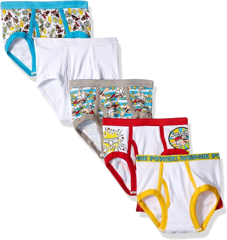 Dreamworks Boys Captain Underpants 5 Pack Boys Brief Underwear