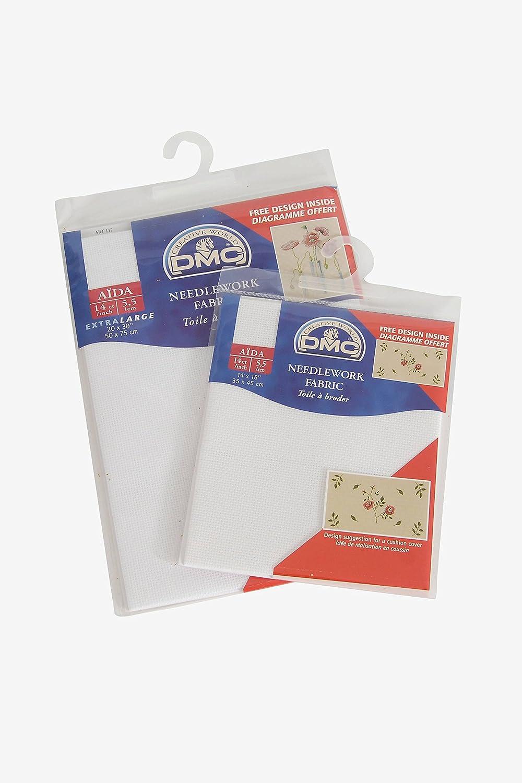 14 Count Black Aida Fabric 20x30 Inches DC28//10 50x75cm - 310