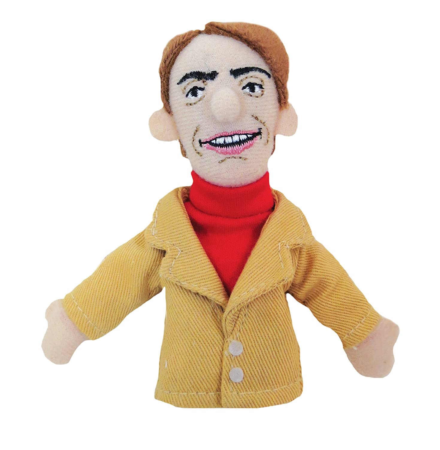 The Unemployed Philosophers Guild Carl Sagan Finger Puppet and Refrigerator Magnet - For Kids and Adults