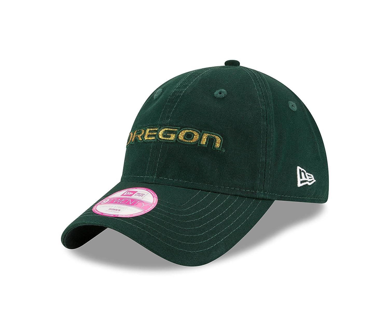 1bd16a33527a7 Amazon.com   NCAA Oregon Ducks New Era Team Glisten LS 9TWENTY Adjustable  Cap