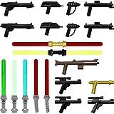 GALAXYARMS Juego Arma Set # 14: Blaster y espadas para Minifiguras