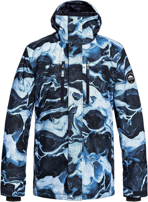 Quiksilver - Chaqueta para Nieve - Hombre - L - Azul