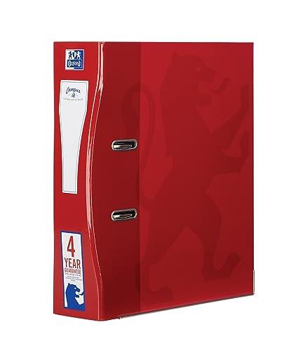 Archivadores Oxford A4, 70 mm, color rosso paquete de 1 unidad