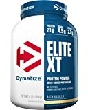 Dymatize Elite XT Extended Release Protein, Rich Vanilla, 4 lbs