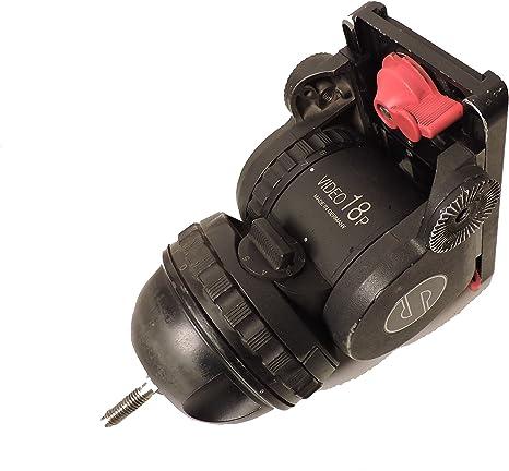Sachtler vídeo 18 P fluid Head 100 mm con arañazos para uso con ...