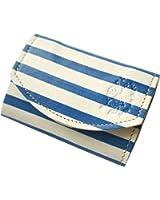【極小財布・小さい財布】小さいふ ポキート クアトロガッツ PICASSO STRIPE ~ピカソ青の時代~ 小さいふアートシリーズ