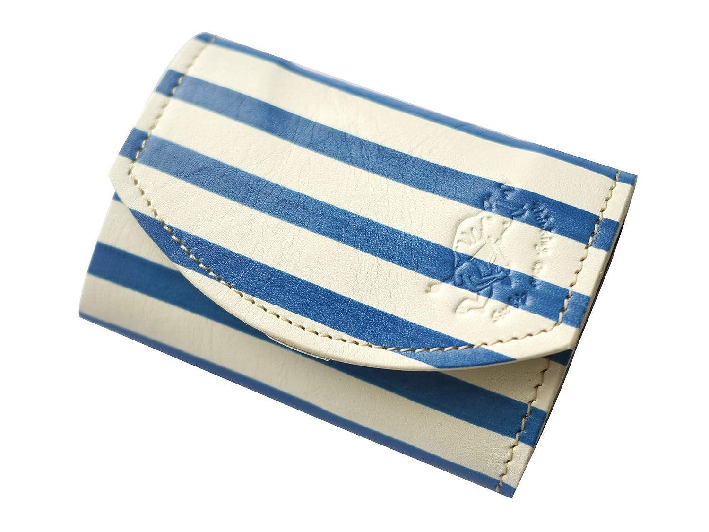 【極小財布小さい財布】小さいふ ポキート クアトロガッツ PICASSO STRIPE ~ピカソ青の時代~ 小さいふアートシリーズ B00DSIIHBK
