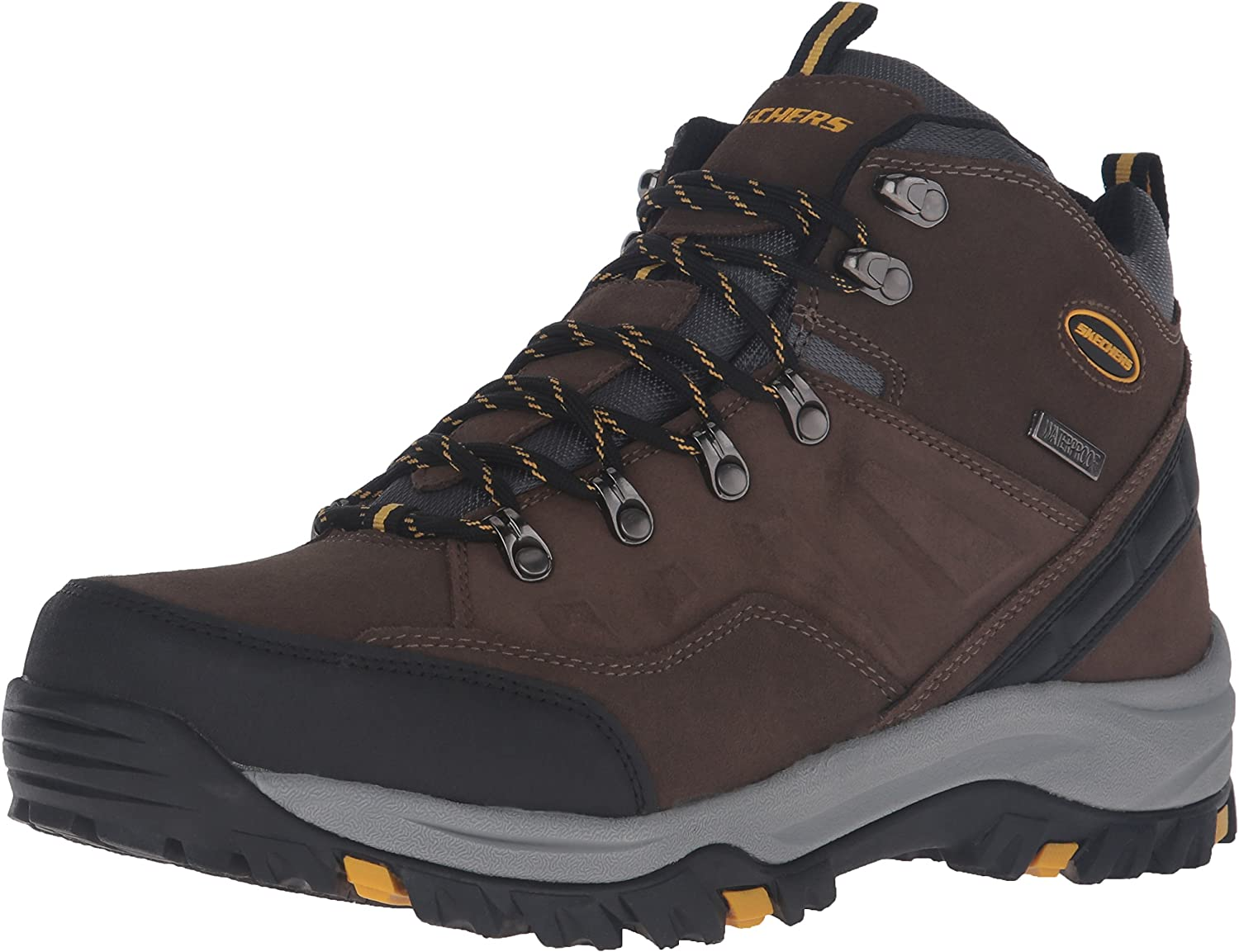 Skechers Men s Relment Pelmo Chukka Waterproof Boot