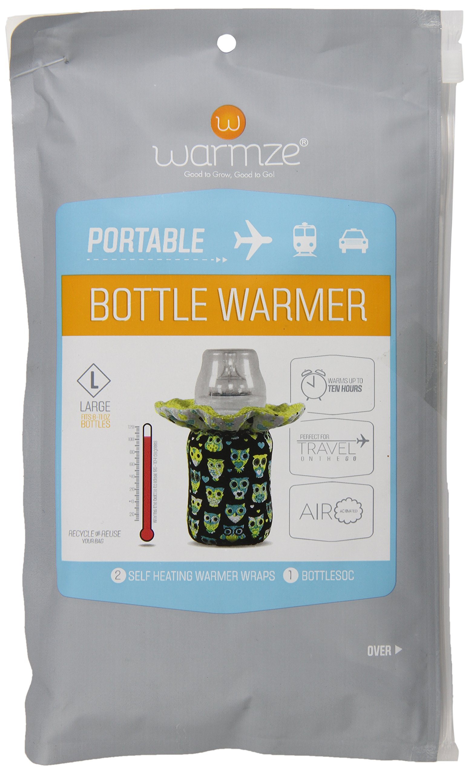 how to warm baby bottle on the go