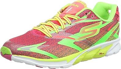 Skechers Go Run 4 - Zapatillas running para mujer, LMHP, 41: Amazon.es: Zapatos y complementos