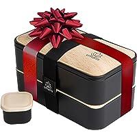 Umami® ⭐ Lunch Box Premium - 1 Recipiente 3 Cubiertos - Tupper Compartimentos Estilo Bento Box Japonés - Porta Alimentos…