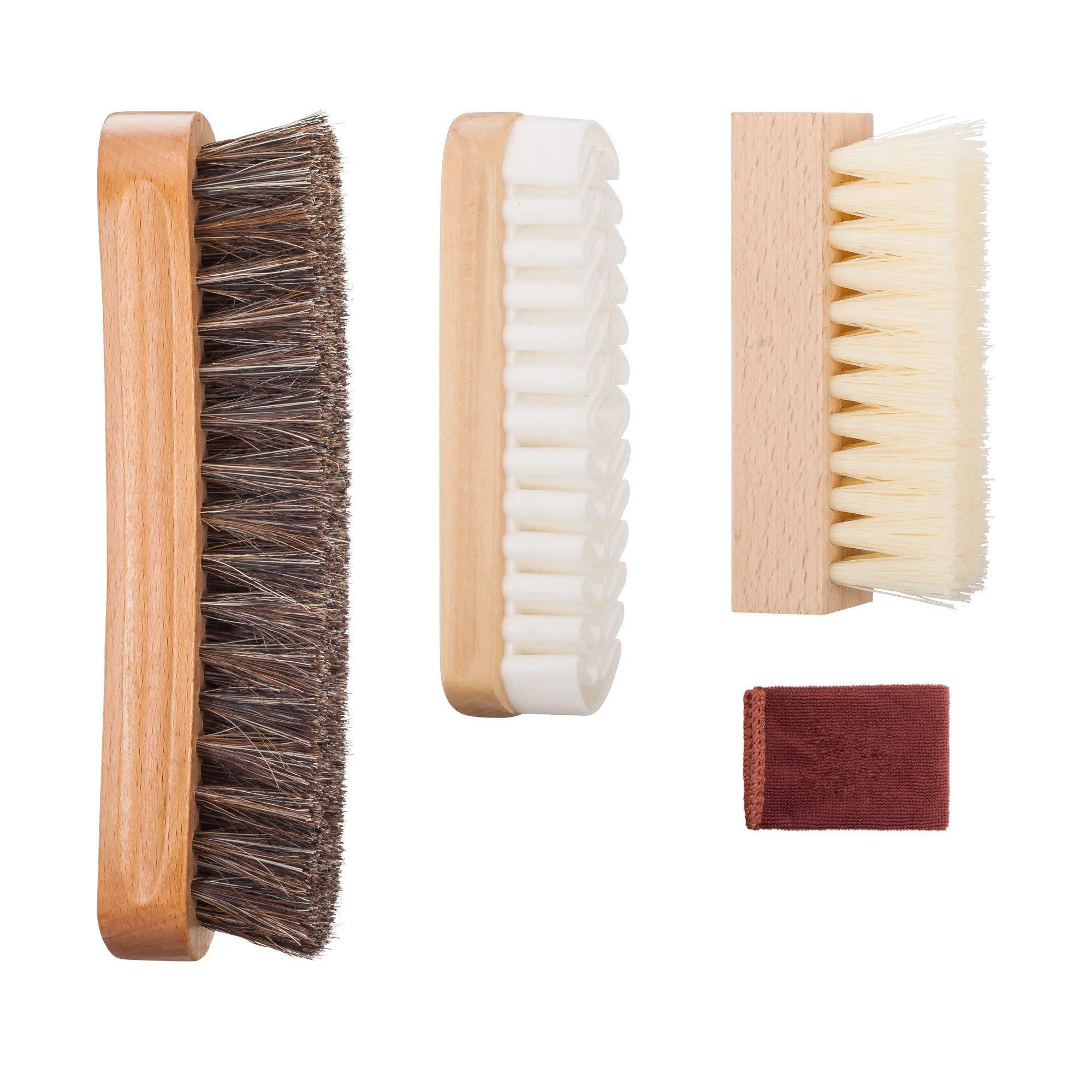 Kit de cepillo para zapatos con cepillo de zapato 100% de ce