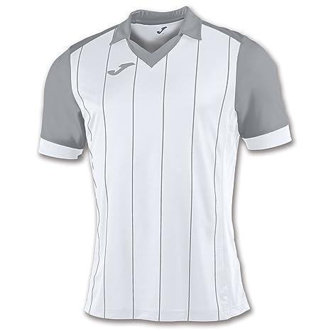 Joma Grada Camiseta de Manga Corta, Hombre, Blanco, 2XL-3XL
