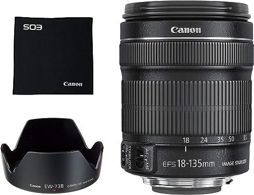 Canon 18-135 mm/F 3.5-5.6 EF-S is 18 mm Objektiv (Canon EF/EF-S-Anschluss,True)