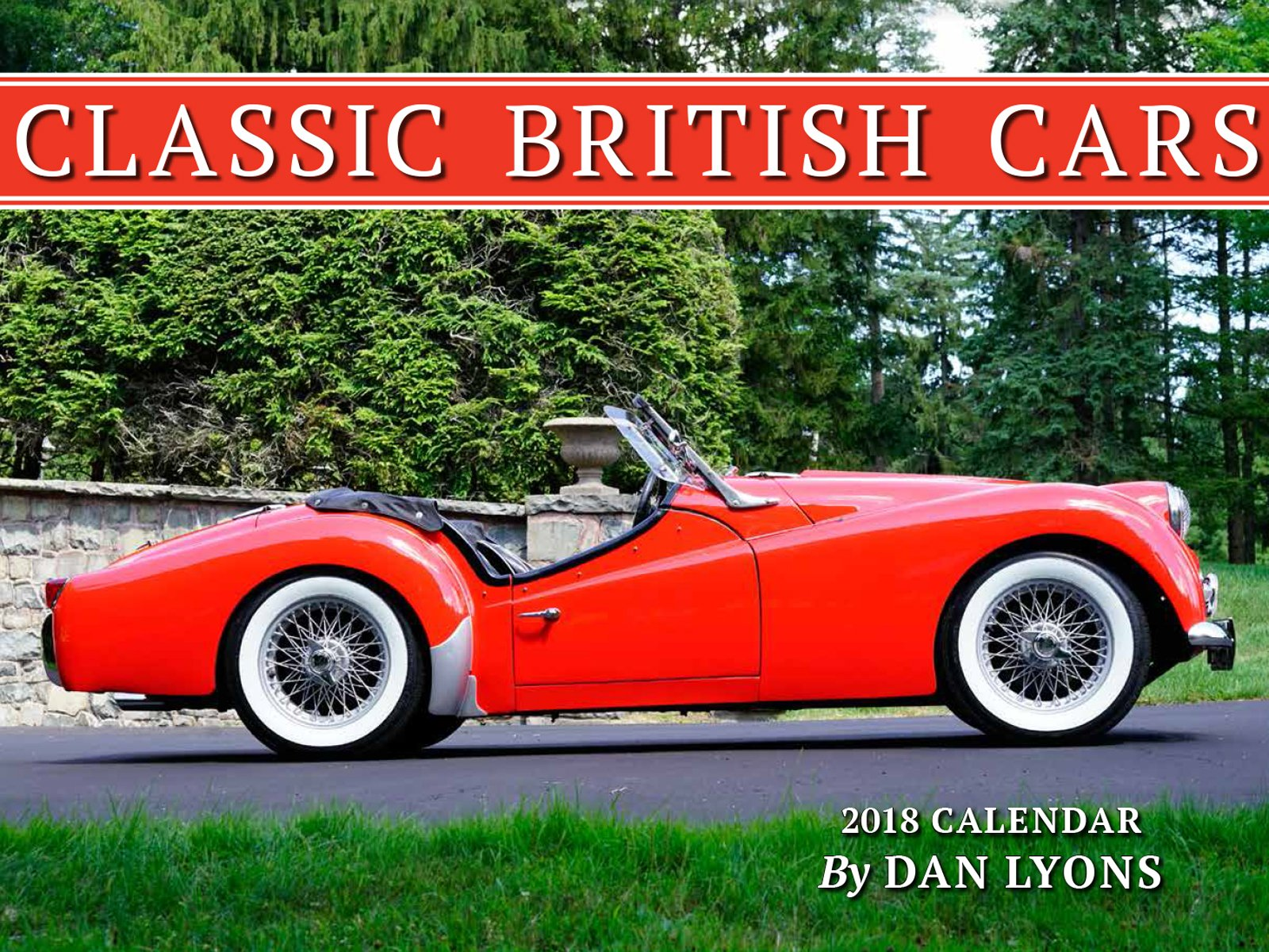 Classic British Cars Calendar Dan Lyons - British cars