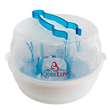 Review Kiddiluv Microwave Steam Sterilizer