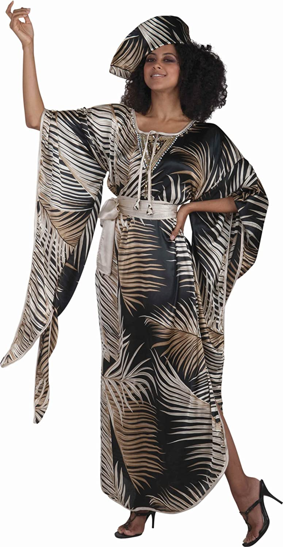 Forum Novelties Disfraz de reina africana para mujer - - Talla ...