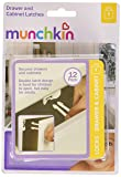 Munchkin 12 Count Drawer and Cabinet Latches