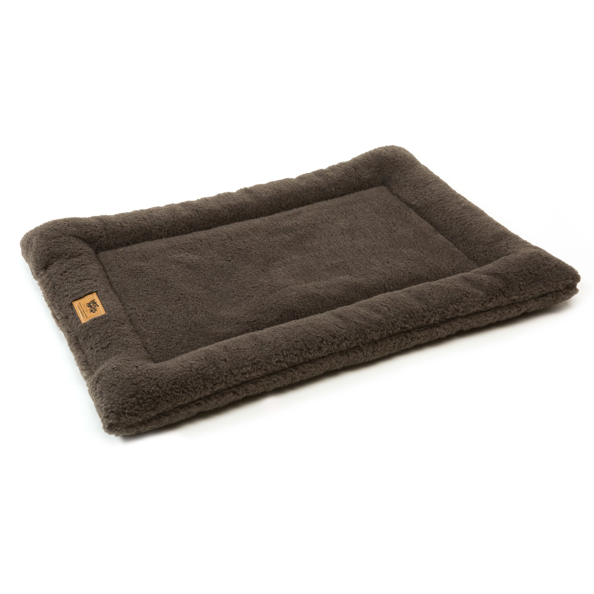 West Paw Design Montana Nap with IntelliLoft Fiber and Fill Durable Lightweight Mat for Dogs and Cats, Made in USA, Boulder, Medium