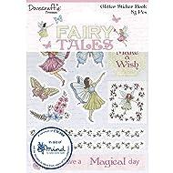 Dovecraft Premium Fairy Tales Glittered Sticker Book, Multicolour, 1