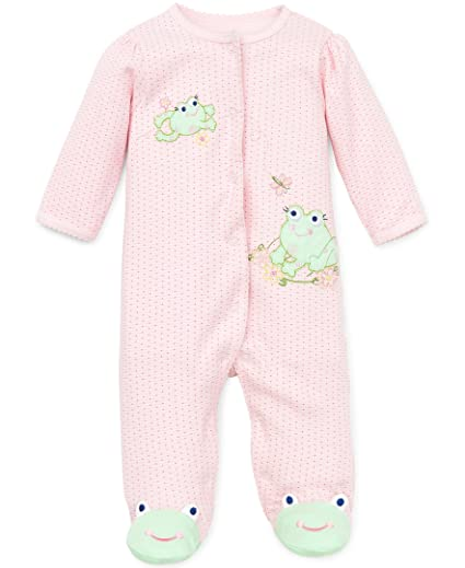 861f4d213 Amazon.com  Little Me Baby Girls  Footie  Clothing
