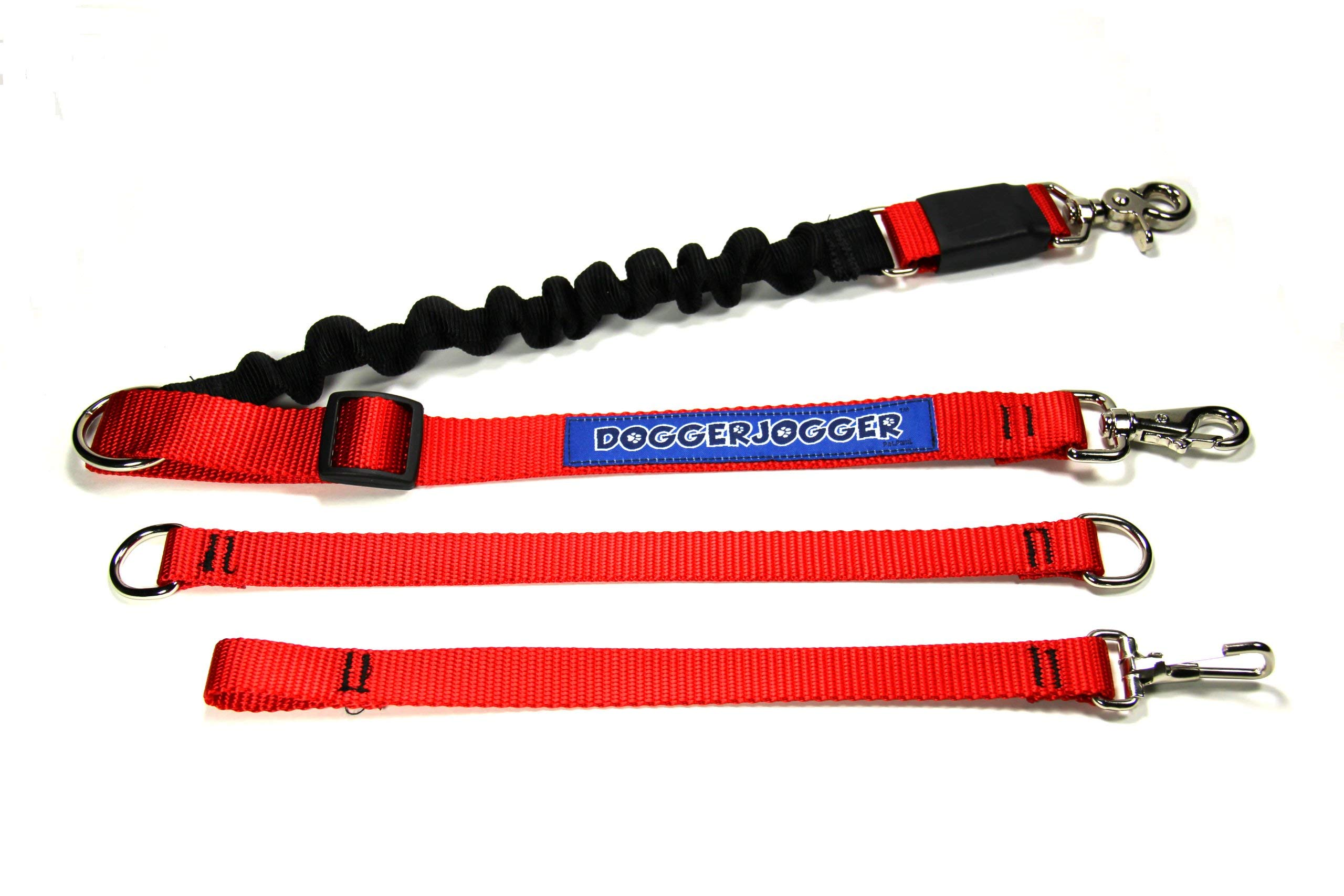 DoggerJogger Bike Dog Leash (Red) by DOGGERJOGGER