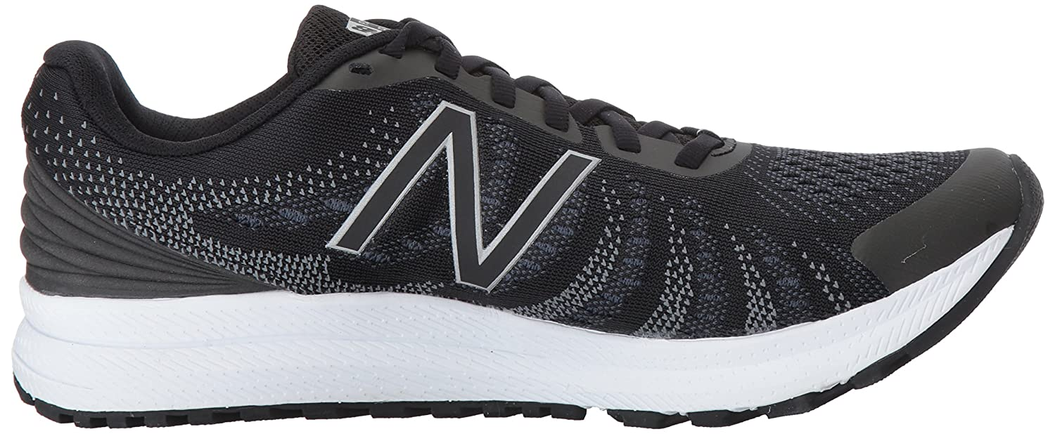 New Balance Women's Rushv3 Running-Shoes B01N66I1SD 6.5 B(M) US|Black/Thunder