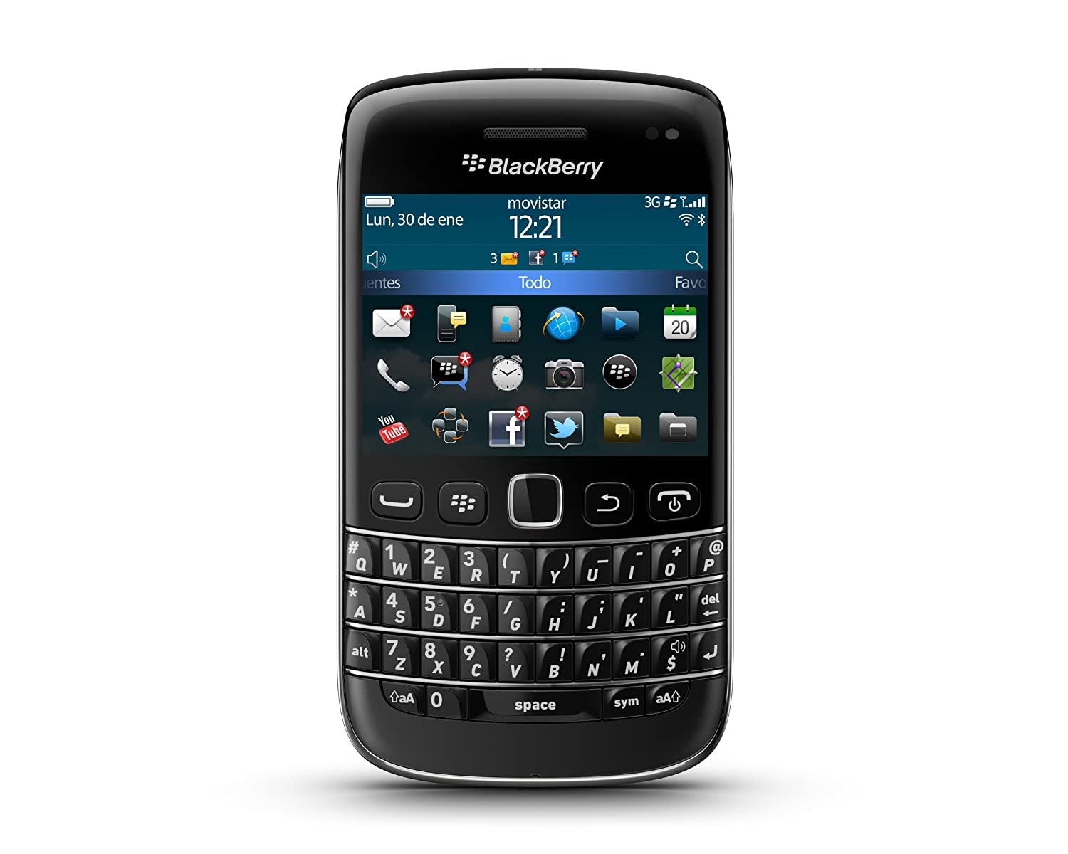 blackberry bold 9790 smartphone black with qwerty keyboard amazon rh amazon co uk BlackBerry Bold Touch 9900 BlackBerry Bold 8900