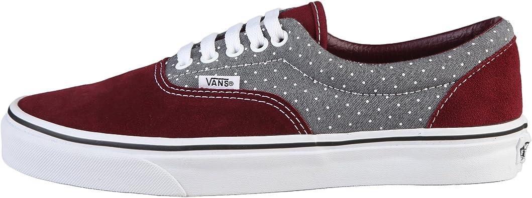 Vans U Era Chaussures Mode Sneakers Unisex Cuir Suede Gris ...