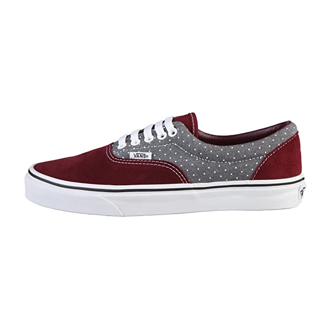 Vans U Era Chaussures Mode Sneakers Unisex Cuir Suede Gris