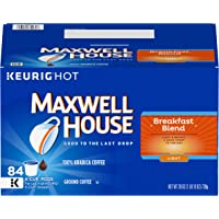 Maxwell House Breakfast Blend Keurig K Cup Coffee Pods, 84 Count