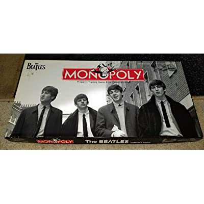 USAopoly The Beatles Monopoly by USAopoly: Toys & Games
