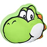 Little Buddy Super Mario Bros. 1260 Yoshi Face Stuffed Plush Cushion, 12""