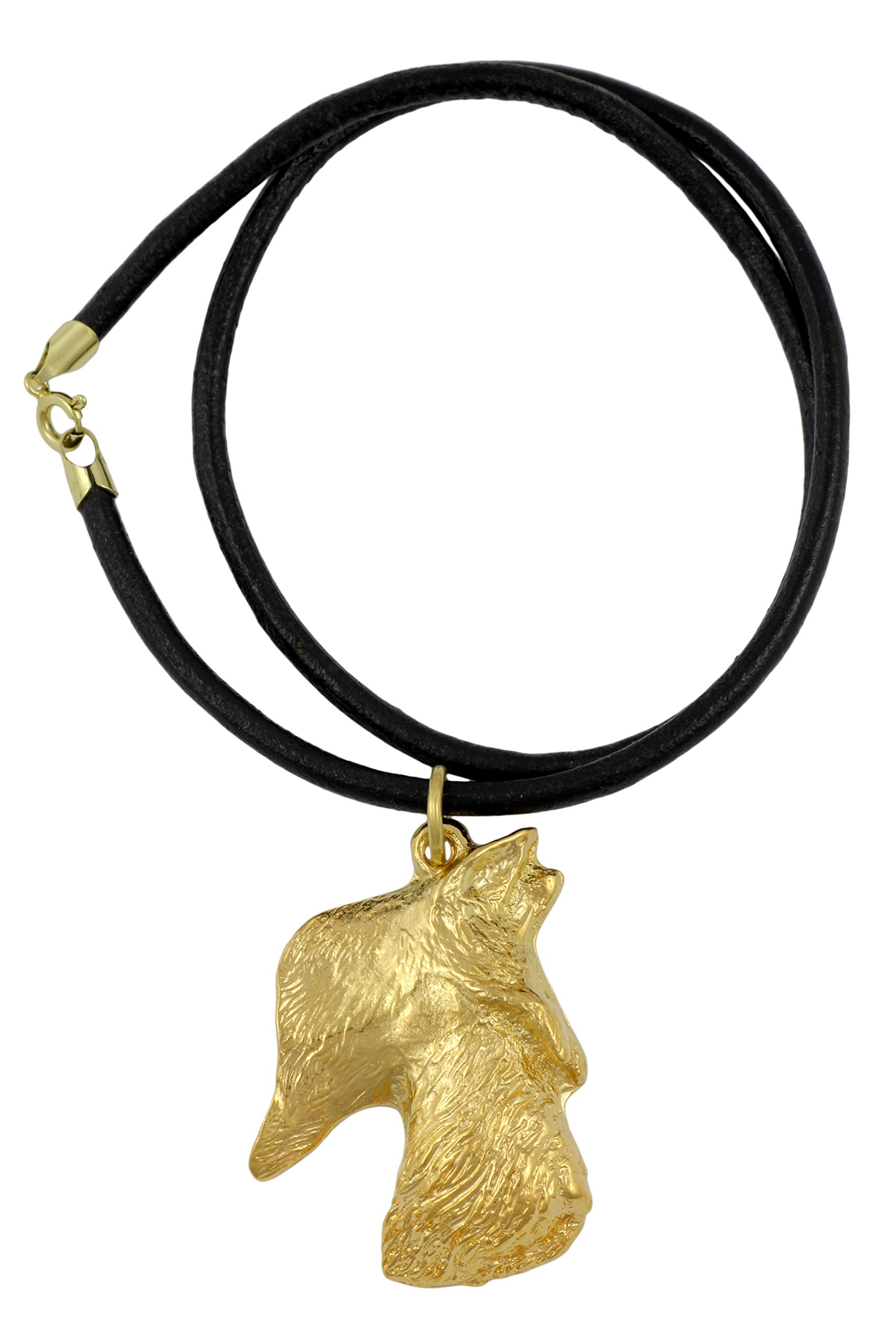 Scottish Terrier (Long Muzzle), Millesimal Fineness 999, Dog Necklaces, Limited Edition, Artdog