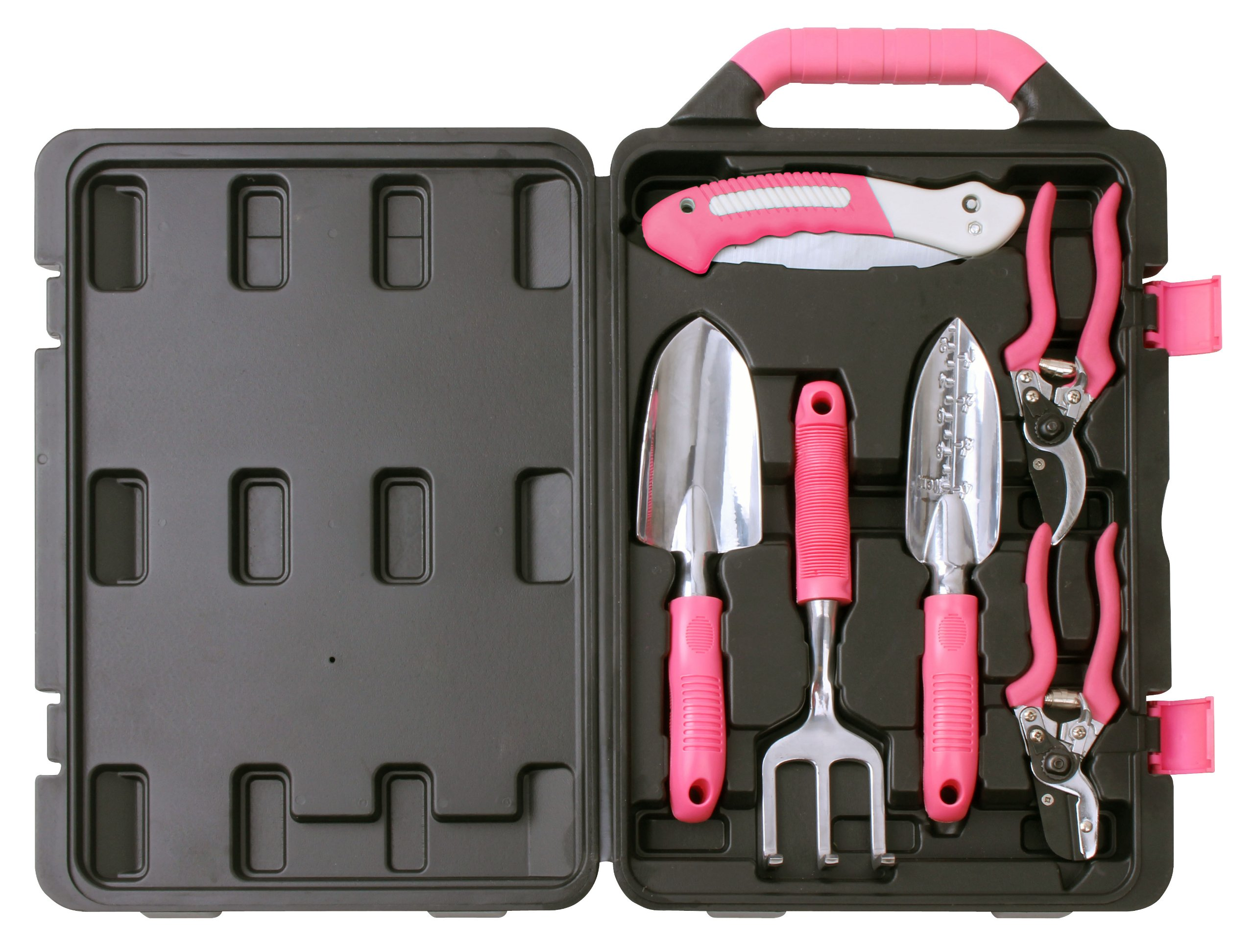 Apollo Precision Tools DT3706P Garden Tool Kit, Pink, 6-Piece, Donation Made to Breast Cancer Research