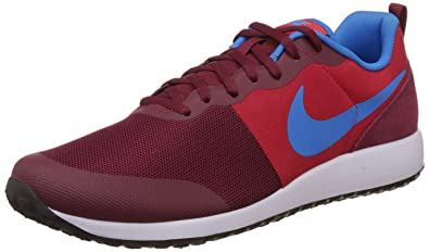 sports shoes 7e4f6 c3cfc Nike Men s Elite Shinsen Team Red, Photo Blue and White Sneakers -10 UK