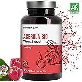 Vitamina C Acerola Orgánica Resfriados Gripes Refuerza Sistema Inmunologico Antioxidante Estres Fatiga Comprimidos Veganos Natural Propiedades