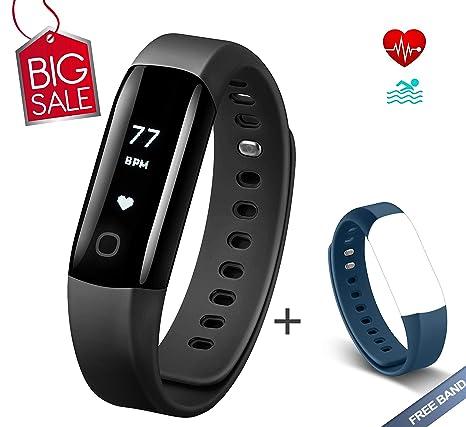 99203e1ea67b8e Arbily Fitness Tracker Vigorun4.0 Orologio Cardiofrequenzimetro  Impermeabile IP68 Fitness Smart Watch Braccialetto Activity Tracker