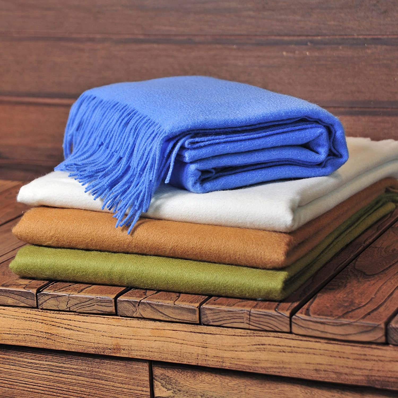 Premium Cashmere Throw Blanket