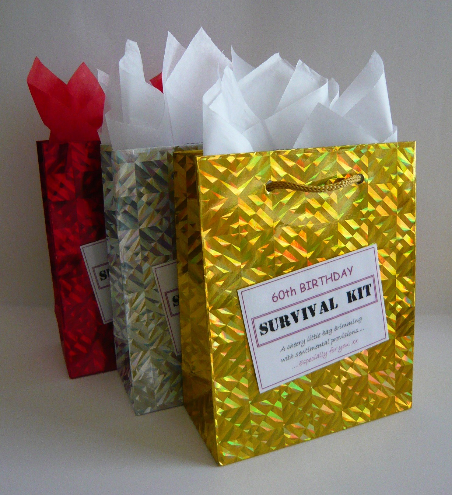 60th Birthday Keepsake Novelty Funny Tin Gift Box Present Idea Women Lady Her