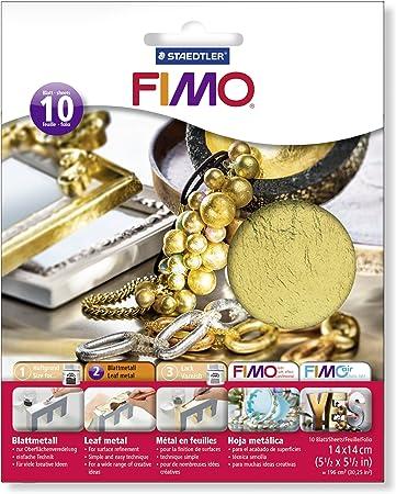 FIMO-8781-11 ST Hoja de Metal, Color Oro, (Staedtler 8781-11): Amazon.es: Juguetes y juegos