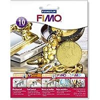 FIMO-8781-11 ST Hoja de Metal, Color Oro, (Staedtler