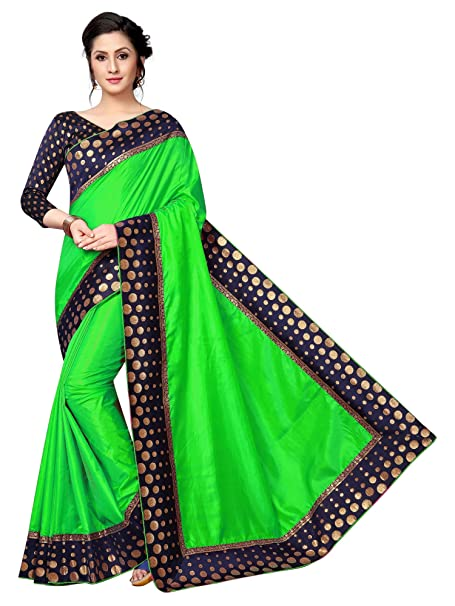 MotherSA Bollywood Art Silk Saree Traditional Women Party
