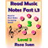 Read Music Notes Fast Level 3 with Speed - Use My Unique Method to Read 22 Music Notes with Accuracy & Speed: Music Speed