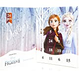 Disney Frozen 2 Advent Calendar 2019 with Anna Elsa, Kids Advent Calendars Includes 24 Surprise Fashion Jewellery Gifts Bracelet Necklace with Charms and Pendants, Christmas Calendars For Boys Girls