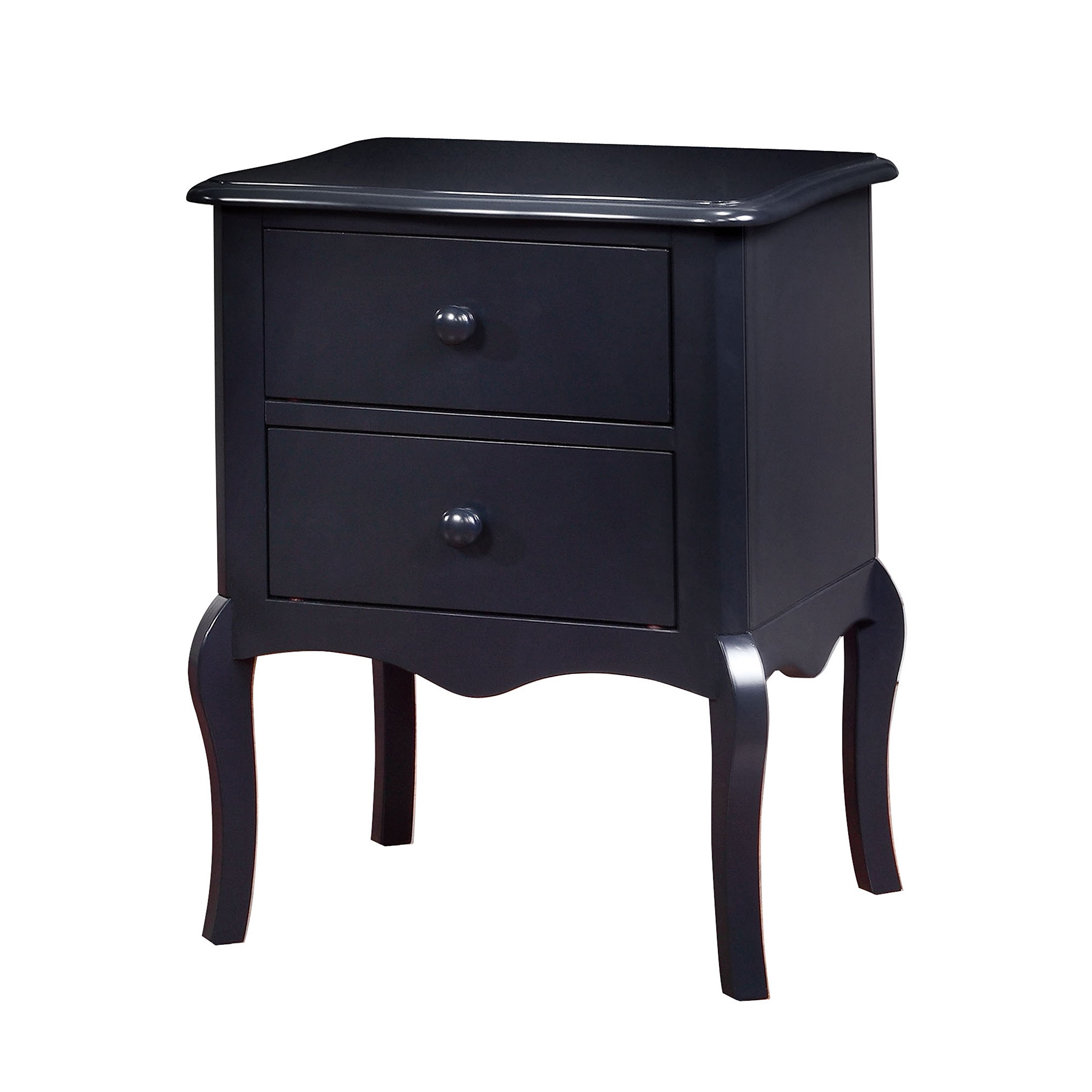 HOMES: Inside + Out IDF-AC325BL Edna Nightstand Childrens, Blue