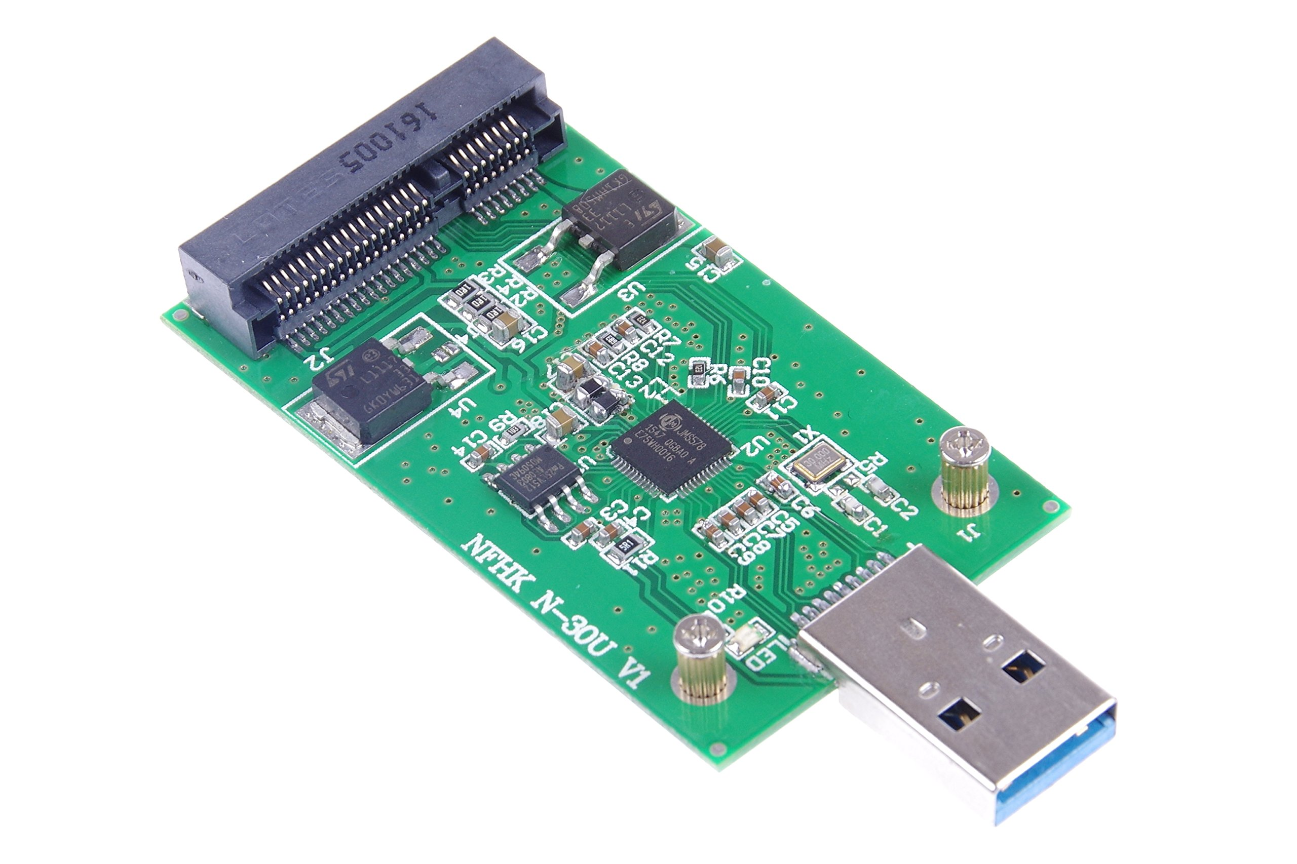 KNACRO USB 3.0 mSATA SSD Adapter as USB Disk Driver don't need USB cable USB 3.0 to mSATA SSD adapter card by KNACRO (Image #8)