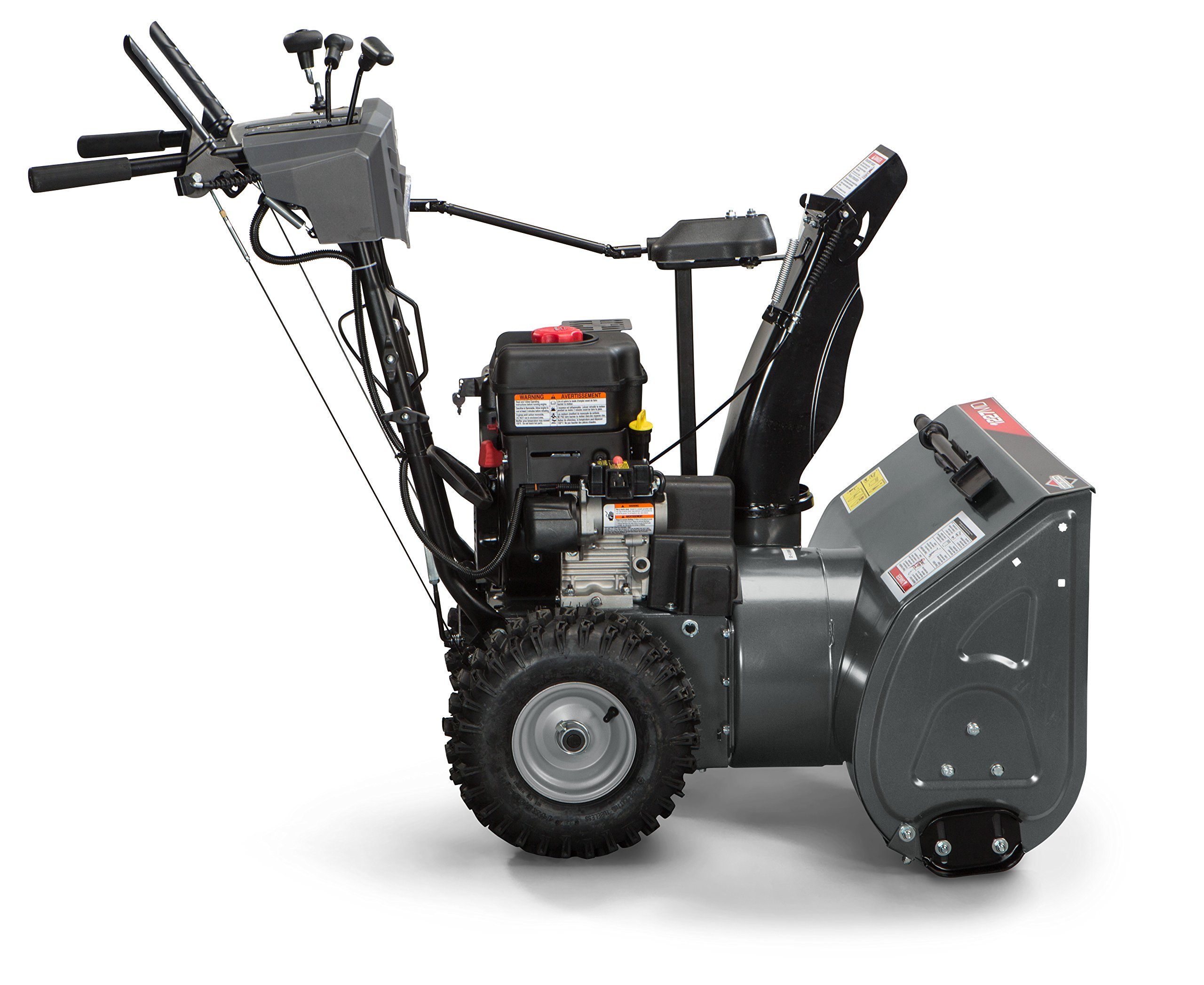 Briggs and Stratton 1696619 Dual-Stage Snow Thrower with 250cc Engine and Electric Start by Briggs & Stratton