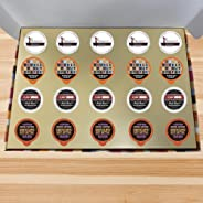 Coffee Wholesale Club - Bold Coffee K-Cups Variety Pack Gift Sampler Subscription Box For Keurig 2.0 Brewers: 20 count